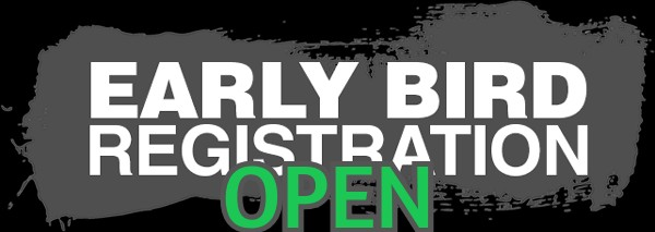 Early bird registration open